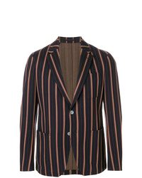 Salvatore Ferragamo Striped Blazer