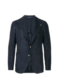 Tagliatore Striped Tweed Jacket