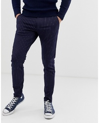 ONLY & SONS Slim Tailored Trouser With Pinstripe Detail
