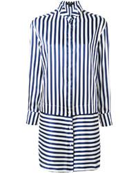 Burberry Striped Shirt Dress
