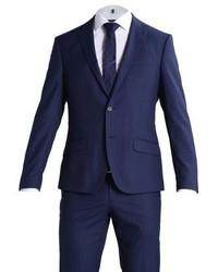 Bertoni Madsen Jepsen Suit Dress Blue