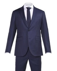 Hackett London Mayfair Suit Dark Blue