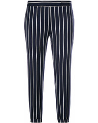 Thom Browne Cropped Striped Trousers