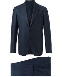 Striped three piece suit medium 398748