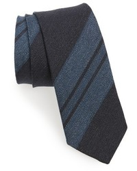 Stripe linen tie medium 1150258