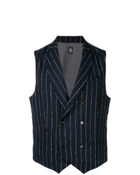 Eleventy Double Breasted Vest