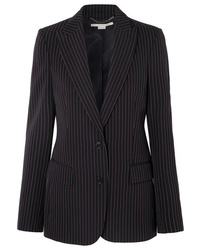Stella McCartney Pinstriped Wool Twill Blazer