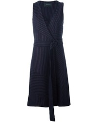 Pinstriped midi dress medium 847873