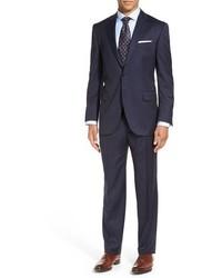 Peter Millar Flynn Classic Fit Stripe Wool Suit