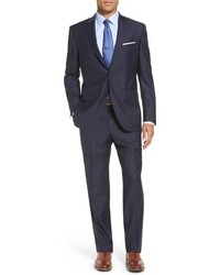 Peter Millar Flynn Classic Fit Stripe Wool Suit