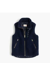 J.Crew Girls Sherpa Vest