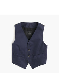 J.Crew Boys Ludlow Suit Vest In Italian Chino