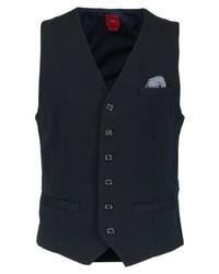 s.Oliver Indoor Waistcoat Storm Blue