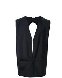 Jil Sander Open Back Waistcoat