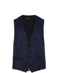 Z Zegna Welt Pocket Waistcoat