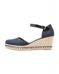 Elba platform heels dark blue medium 4278139