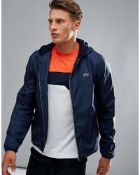 Lacoste Sport Windbreaker Jacket In Navy