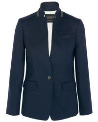 J.Crew Regent Stretch Wool Blazer Navy