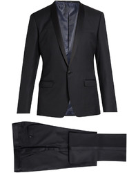 Dolce & Gabbana Shawl Lapel Wool And Silk Blend Tuxedo