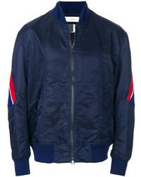 Facetasm Side Stripe Bomber Jacket