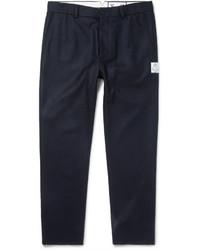 Slim fit wool felt trousers medium 729722