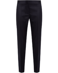 Stella McCartney Vivian Slim Leg Wool Twill Trousers