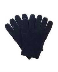 Folk Chunky Knit Wool Gloves