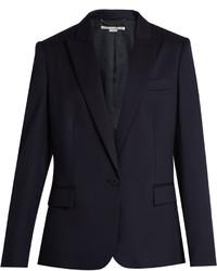 Stella McCartney Ingrid Single Breasted Wool Jacket