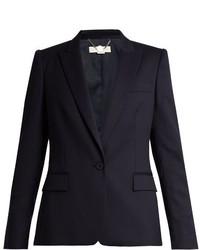 Stella McCartney Ingrid Single Breasted Wool Tailored Jacket