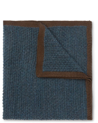 Brioni Cashmere And Silk Blend Pocket Square