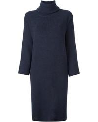 Turtleneck shift dress medium 847856