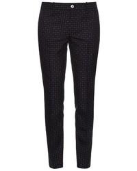 Gucci Dot Jacquard Skinny Fit Trousers
