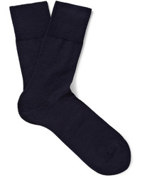 Falke Airport Wool And Cotton Blend Socks