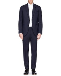 Navy Wool Suit
