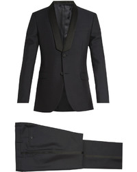 Valentino Shawl Collar Wool And Mohair Blend Tuxedo