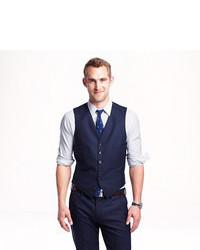 J.Crew Ludlow Suit Vest In Italian Wool