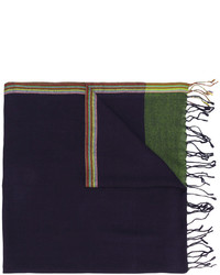 Paul Smith Woven Fringed Scarf