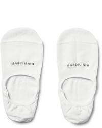 Marcoliani invisible touch pima cotton blend no show socks medium 1264560