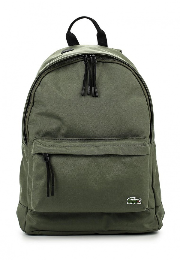Lacoste Olive Backpack   Where to buy   how to wear cfc8d177ec