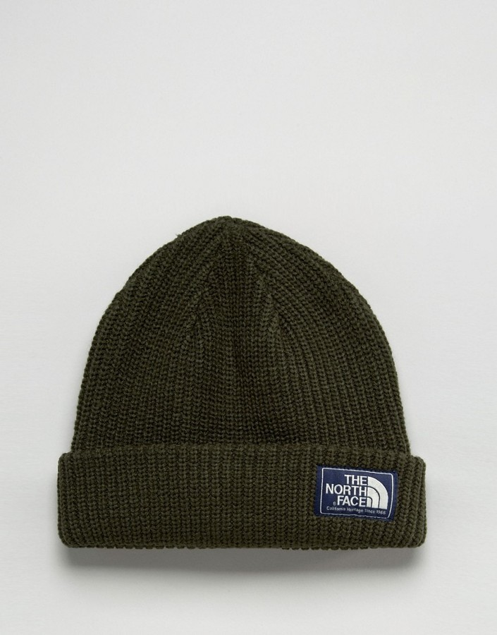 36d383fb6ab1e3 The North Face Salty Dog Beanie In Green, £36 | Asos | Lookastic UK