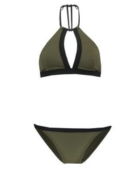Zalando Essentials Bikini Greenblack