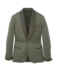 Mango Suit Jacket Khaki