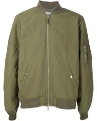 Olive Bomber Jacket