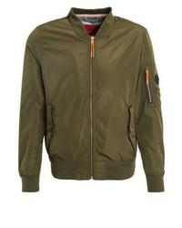s.Oliver Bomber Jacket Forest Green