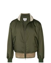 Oamc Shearling Hem Bomber Jacket