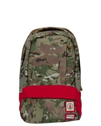 Olive Camouflage Backpack