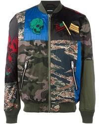 Diesel Camouflage Bomber Jacket