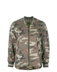 Alessandra Chamonix Camouflage Fitted Jacket