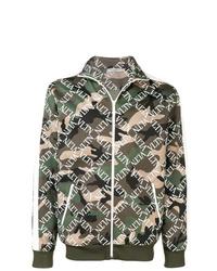 Valentino Vltn Camouflage Jacket