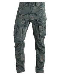 Rovic Qane 3d Tapered Cargo Trousers Khaki